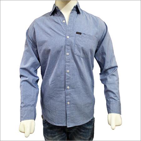 Gents Designer Solid Plain Cotton Shirts