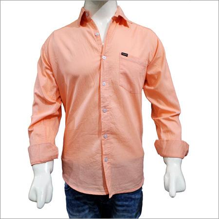 Mens Solid Plain Cotton Shirts