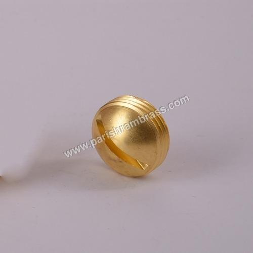 Brass Round Cap Screws