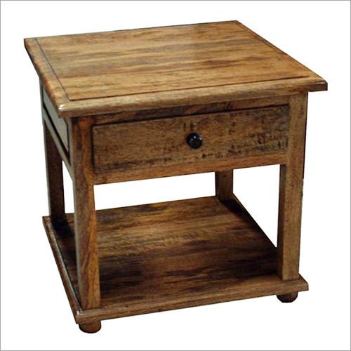Wooden Bedside & Sideboard