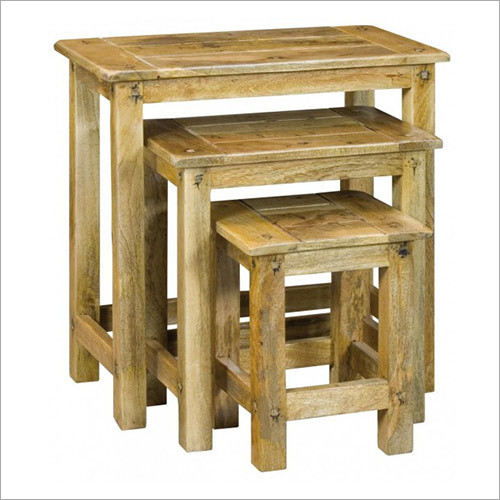 Wooden Stool & Bench