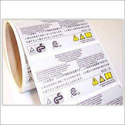 White Tamper Proof Labels