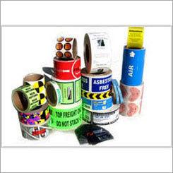 Colour PVC Labels