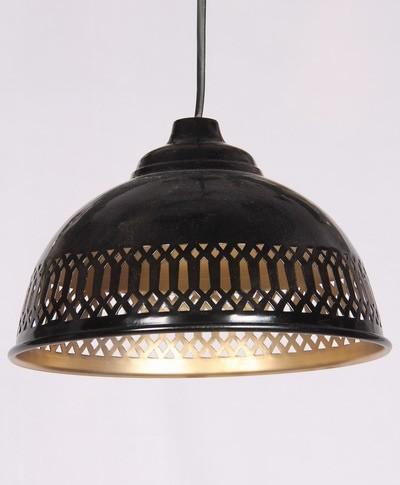 BLACK GOLDEN CUTTING PENDANT LAMP