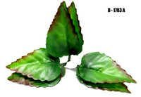 3 in 1 Artificial Shaded Green Leaf