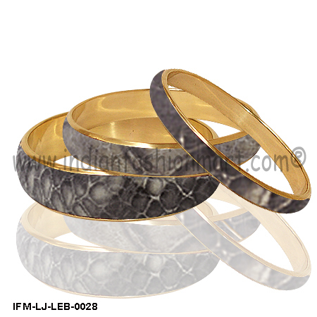 Provenance Redefined - Leather bangle Set