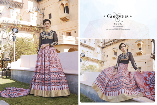 Georgette Fancy Salwar suits