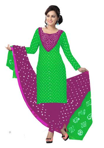 a0ead2437c Pure Cotton Bandhej Dress Material Exporter,Pure Cotton Bandhej ...