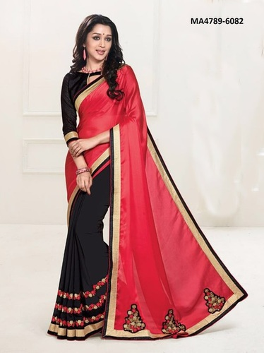 Excluxive Georgette Saree