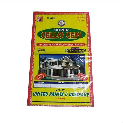 Waterproof Cement Bags