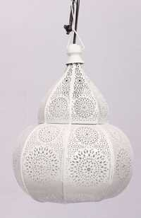 WHITE WASH NETTING HANGING LAMP