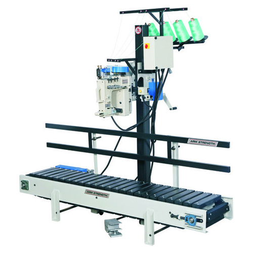 Conveyor System Sewing Head Closing Machine