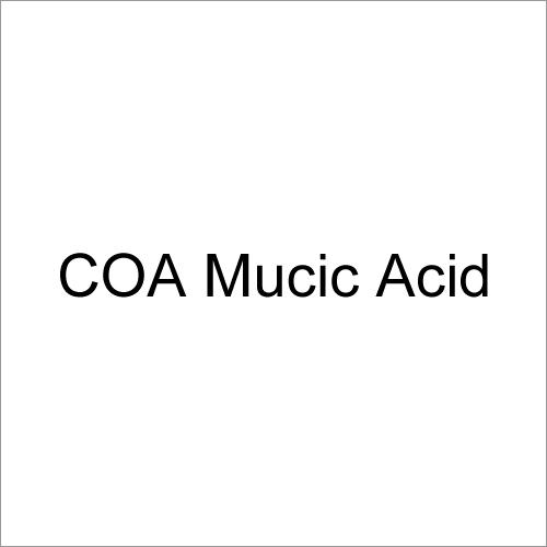COA Mucic Acid