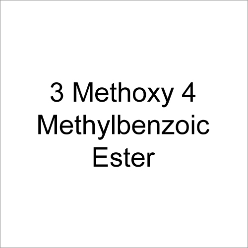 3-Methoxy 4-Methyl Benzoic Ester