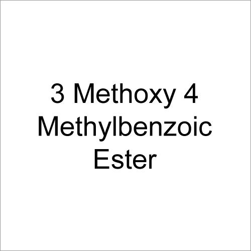 3 Methoxy 4 Methylbenzoic Ester