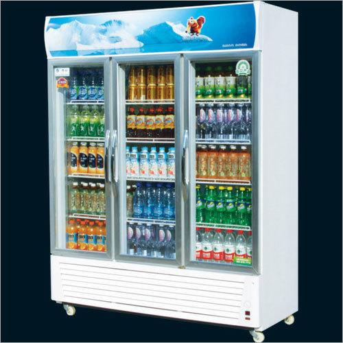 Triple Aluminium Door Visi Refrigerator