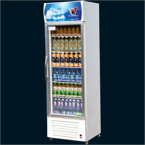Single Aluminium Door Visi Refrigerator