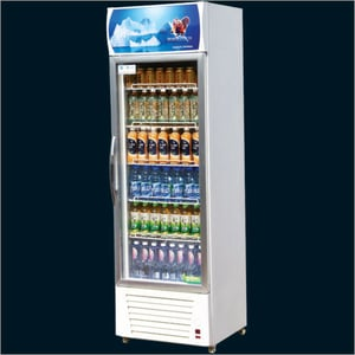 Single Aluminium Door Visi Refrigerator