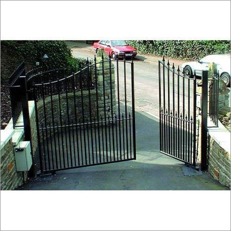 Automatic Swing Iron Gate