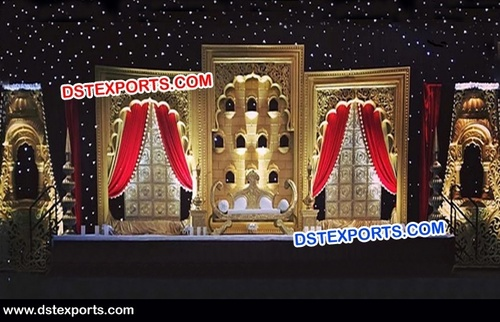 Rajwada Theme Stage Decor