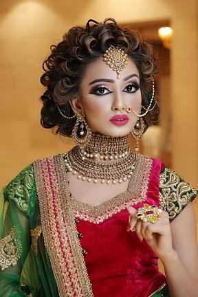 Best Air Brush Bridal Makeup Artist Karnal