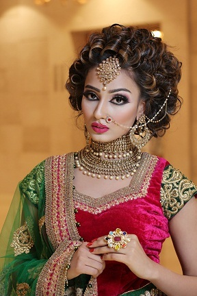 Best Air Brush Bridal Makeup Artist in Haryana