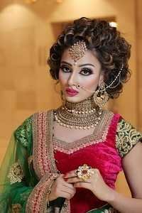 Best Air Brush Bridal Makeup Artist in Haryana