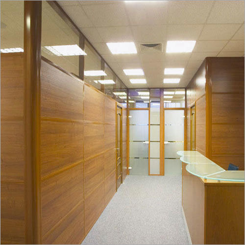 Modular Wooden Partition Services