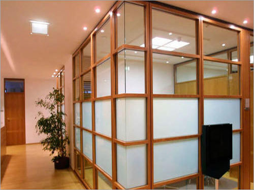 Office Wooden Partition Services
