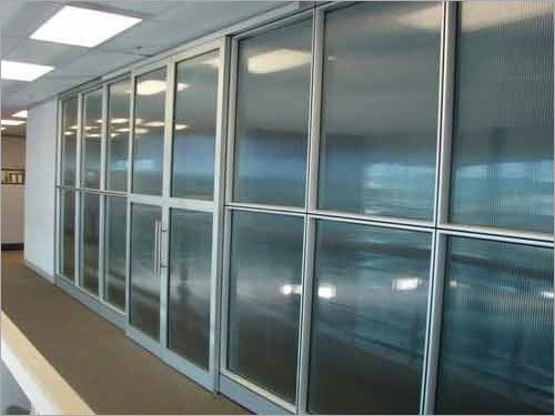 Aluminum Office Partition Fabrication Services