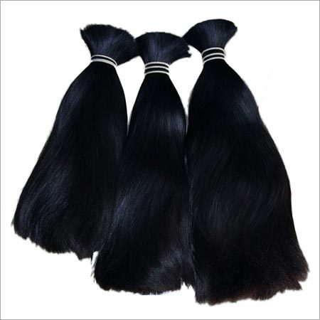 Indian Double Drawn Human Hair