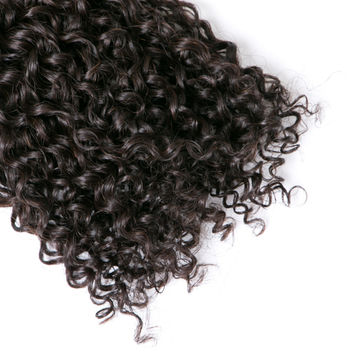 Non Remy Kinky Curly Human Hair