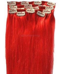 Colored Non Remy Human Hair Extension