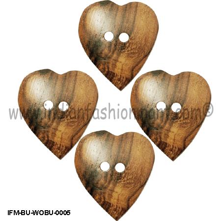 Lance-Wood Button