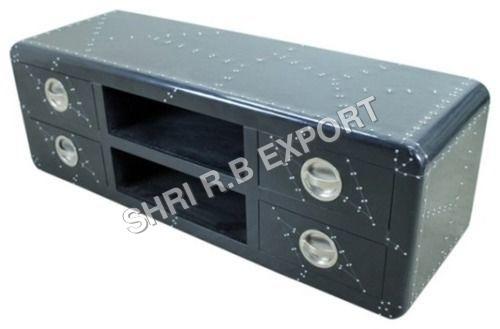 Aviator Black Tv Cabinet