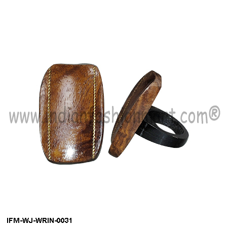 Neolithic Delight - Wooden Ring