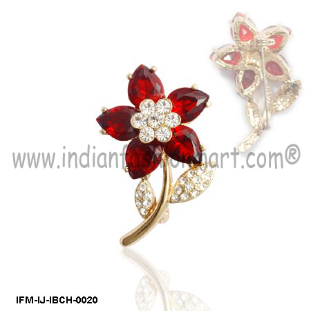 Rosey Victoria-Fine Jewelry Brooch