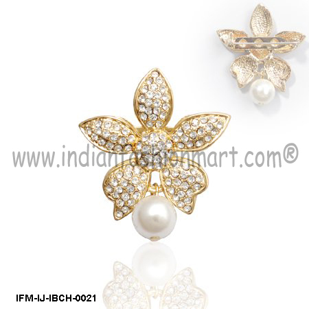 Isabelle-Fine Jewelry Brooch