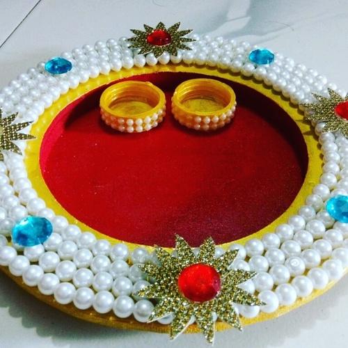 Handmade Pooja Thali