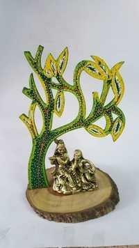 Loving Radha Krishna Statue