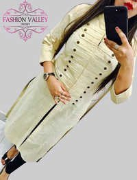 fancy desainer selfi cotton kurti