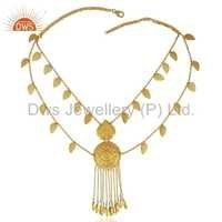 Indian Traditional 925 Silver Necklace