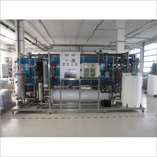 Electro Deionization Process Plants