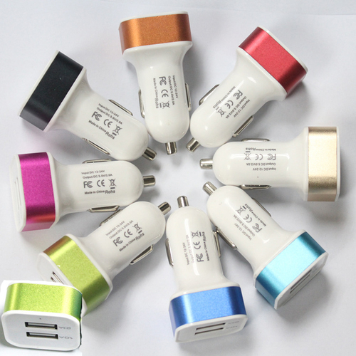 2 Port 1.0-2.1A USB Car Charger supplier in Gorakhpur