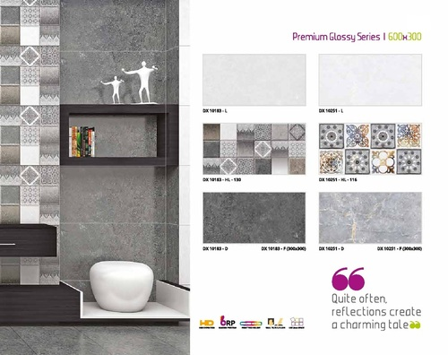 Ceramic Wall Tiles 300X600mm