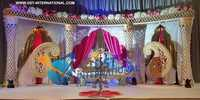 Asian Wedding Royal Paisley Stage