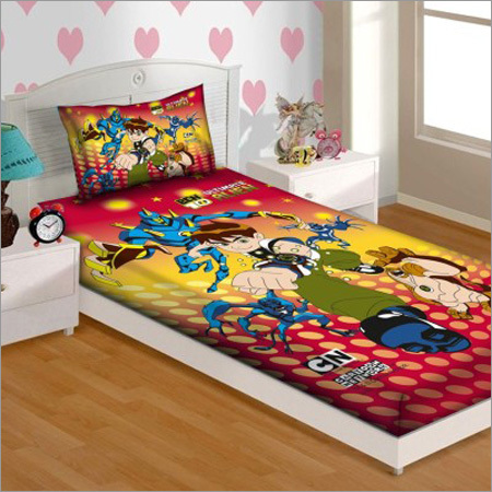 Digital Printed Bedsheet