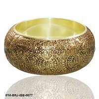 Captivating Belinda - Brass Bangle
