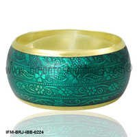 Pellucid Charisma - Brass Bangle
