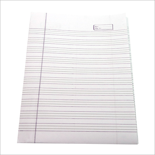 English Ruled Paper